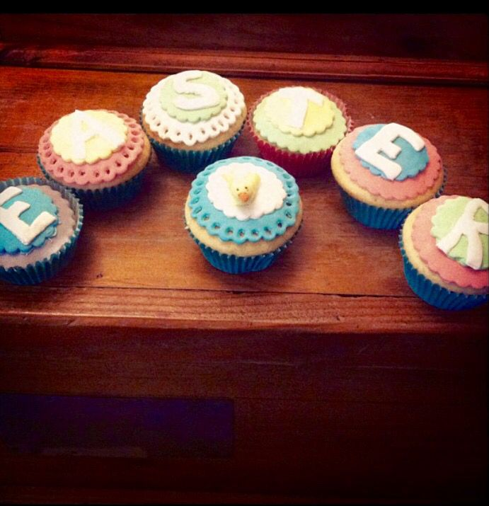 Easter cupcakes by @stephabubbles