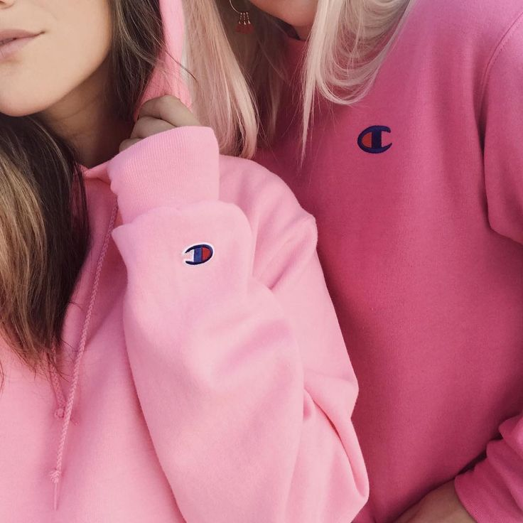 Pink #Champion Sweatshirts | #PSgirls