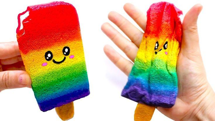 253 best diy squishy images on pinterest diy squishy - Como hacer helados caseros ...