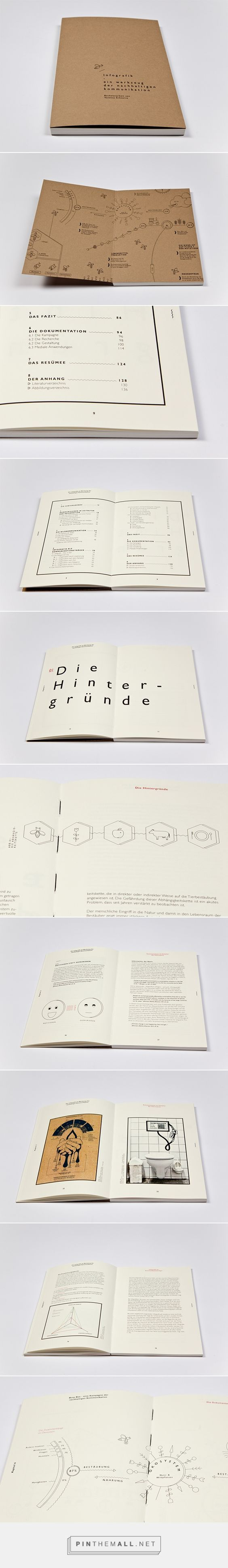 Information graphics thesis by Vanessa Schnurre: