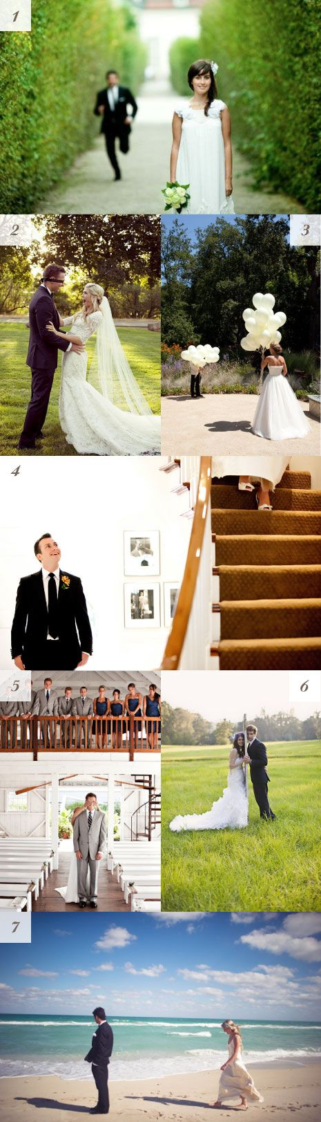 Inspirational first look wedding photos - #reveal #firstlook