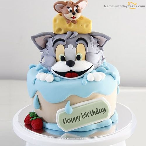 19 Best Happy Birthday Cake Images Images On Pinterest