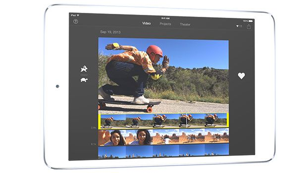 The iMovie app on iOS comes with a few trailer templates that let you ...