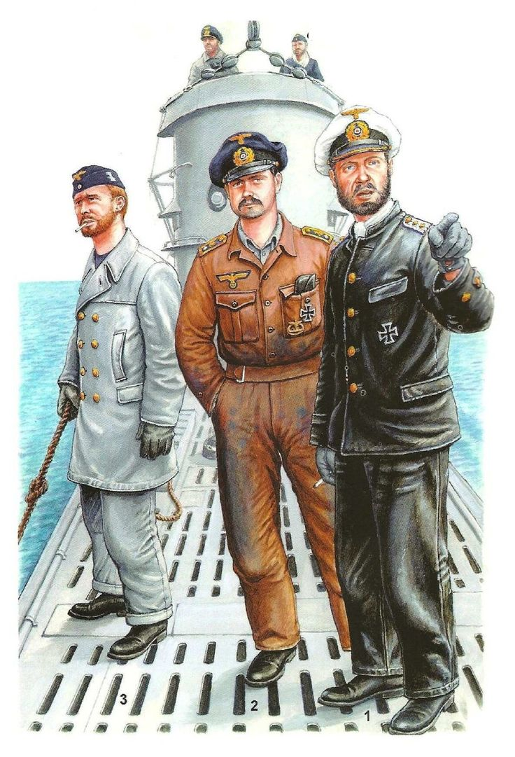 Crew of a U-Boat.
