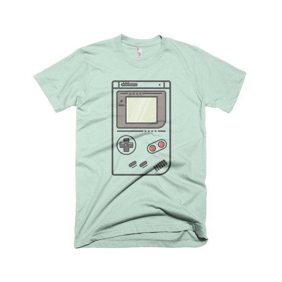 Nintendo Gameboy Retro T-Shirt Pokemon Mario by PocketMonsterGoods