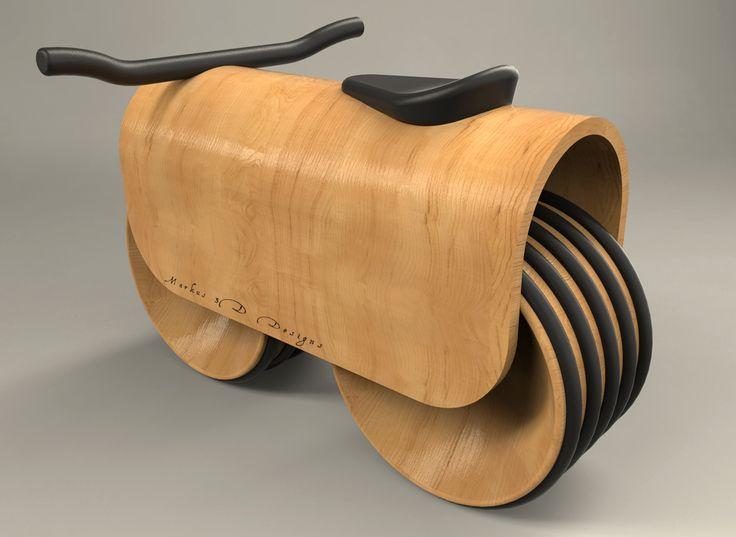 Correpasillos madera