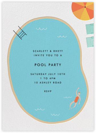 maude's pool   paperless post