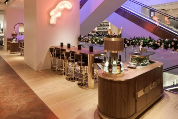 Selfridges Creates Bespoke Cocktail Bar In Their Mens Shoes Department [Pics] - PSFK