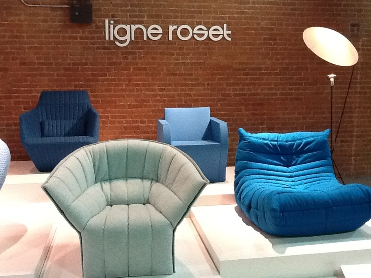 May 2012 at WantedDesign NYC, the new and exciting event taking place during Design Week. Ligne Roset showed a retrospective display of the most iconic pieces of the past 40 years, including Togo, Moël, and Facett. We also furnished the VIP lounge.