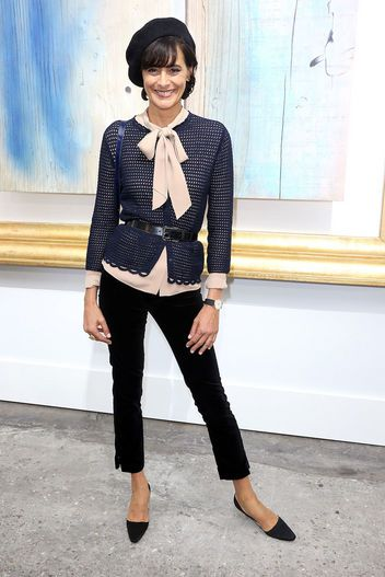 Fashion Icon Ines de la Fressange on Her Uniqlo Collaboration and How to Be French-Chic