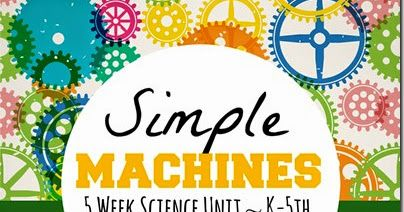 Simple Machines - 5 week, hands on science unit for homeschoolers from preschool, kindergarten to 1st-5th grade. This week we explore simple physics concepts for kids, how simple machines make work easier, and take a look at inclined planes. This unit also includes free printable simple machines worksheets for kids.