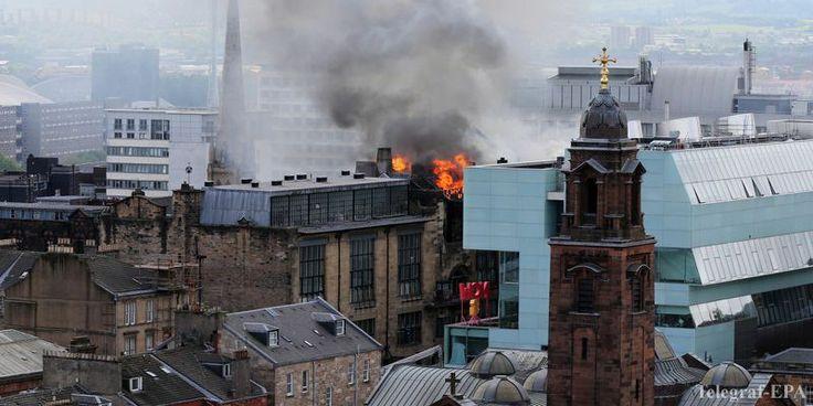 Пожар в Школе искусств Глазго (Видео)  http://telegraf.com.ua/1297051