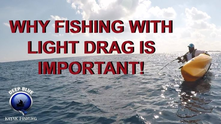 Why You Should Always Fish With Light DRAG!