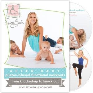 """From knocked-up to knock out, try """"After Baby Pilates-Infused Functional Workouts"""" from @Erica Ziel!"""