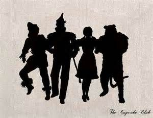Wizard Of Oz Silhouette Chic silhouette wizard of