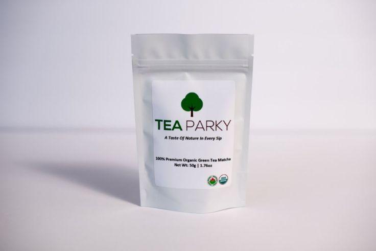 Organic Premium Matcha Green Tea Powder (50g, 100g)