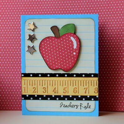 Super cute Teacher's card