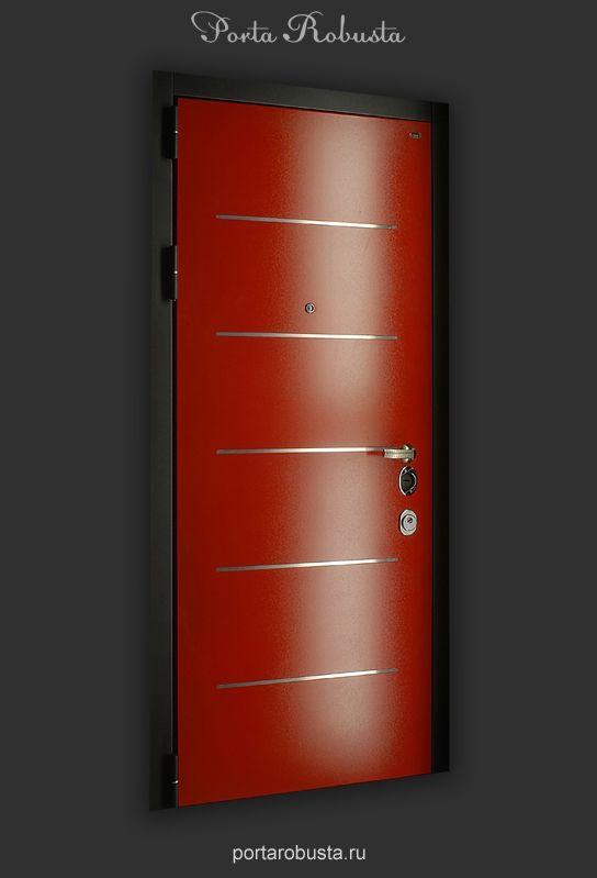 Элитная металлическая дверь в квартиру на заказ в Москве Evolution Format