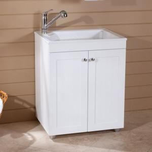 D Composite Laundry Sink With Faucet And Storage Cabinet Inspo Buanderie Pinterest Laundr