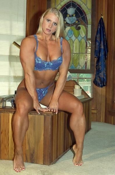 Weibliche Bikini Muskel Bilder