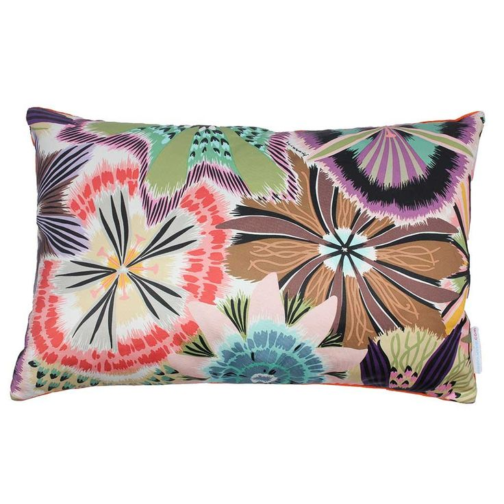 Missoni cushion in Passiflora Multicolor 50x30cm