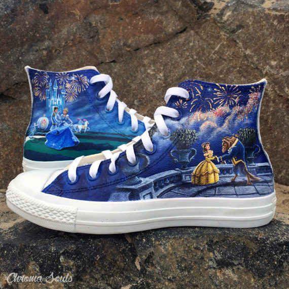 Custom Disney Princess Shoes, $350