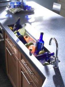 Trough Sink for kitchen ?