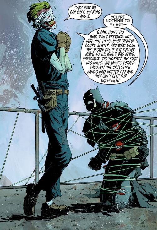 greg capullo Batman & Joker