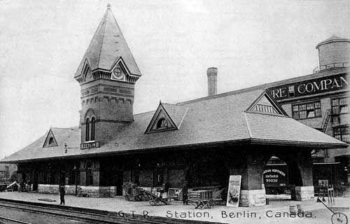 The Kitchener Train Station