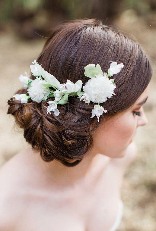 Elodie flower comb
