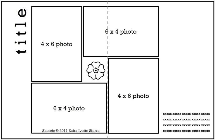 4 X 6 Photo Sketch Blog: Guest Sketch Artist - Zaira Ivette Sierra
