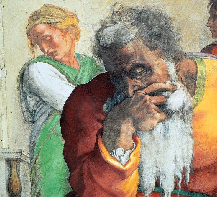 Prophet Isaiah Michelangelo