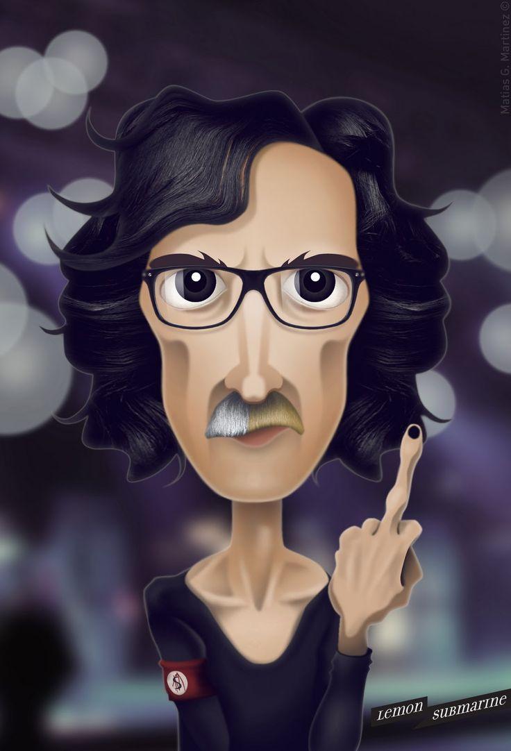 Charly Garcia! More illustrations here: http://www.facebook.com/Lemonsubmarine