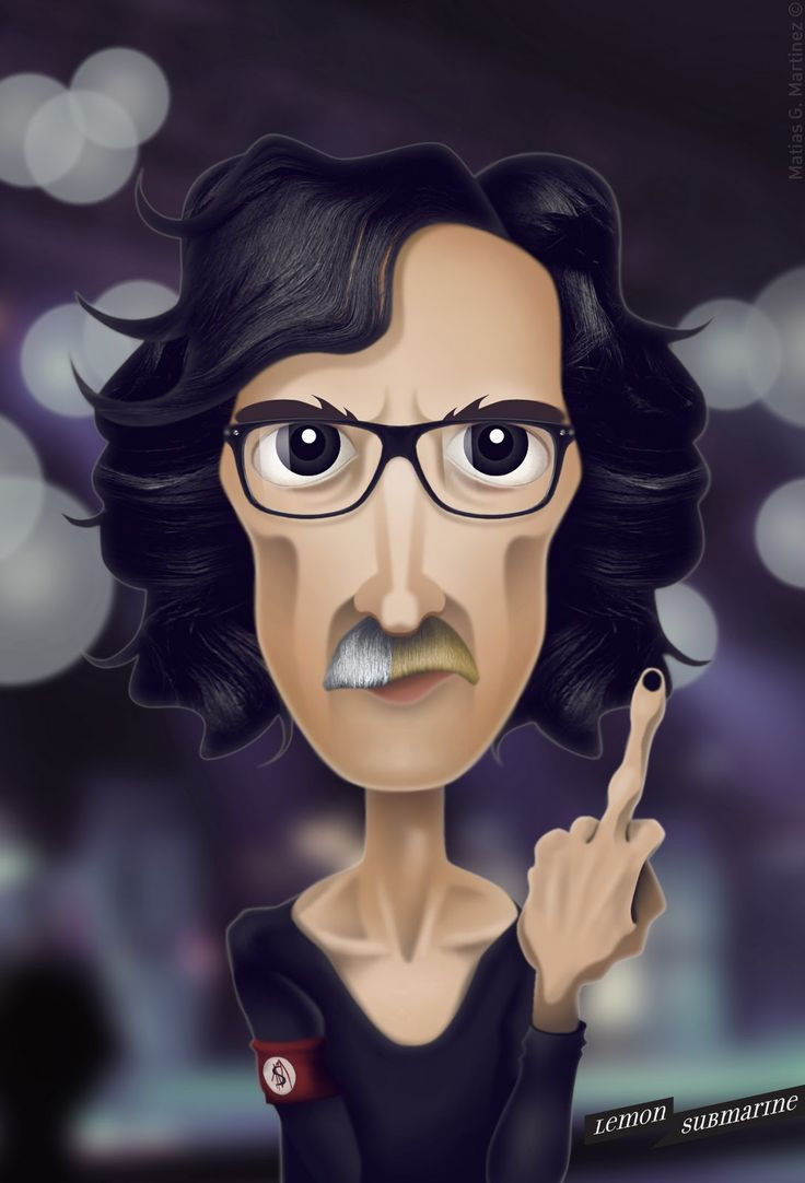 Charly Garcia! More illustrations here: http://www.facebook.com/Lemonsubmarine