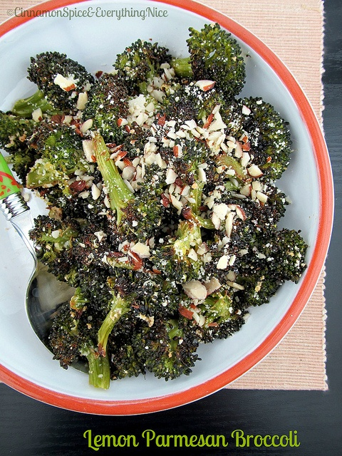 Roasted Lemon Parmesan Broccoli: Red Peppers, Broccoli Chee, Lemon Parmesan, Broccoli Trythisrecip, Roasted Lemon, Broccoli Recipes, Parmesan Broccoli, Rice Casseroles, Cinnamon Spices
