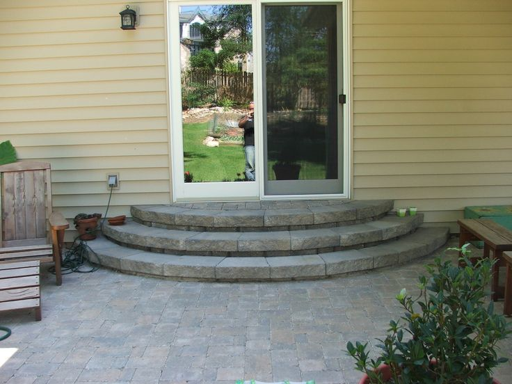 Best Wood Entry Steps Google Search Patio Steps 400 x 300