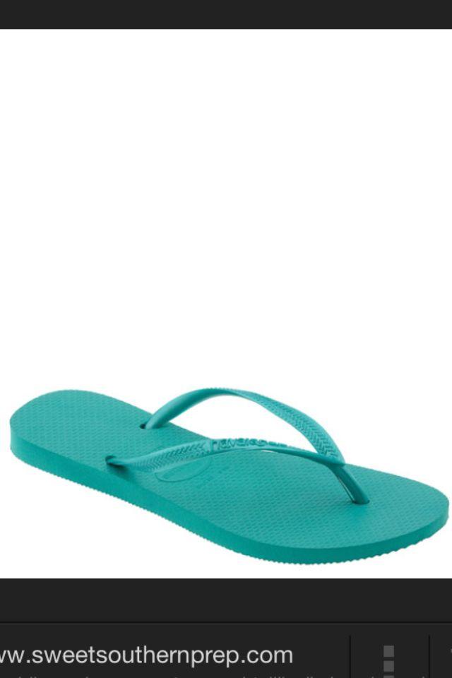 Havaianas turquoise