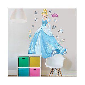 Muursticker Disney Prinses Cinderella