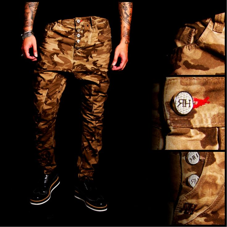 CAMO JEANS #RHREDHOUSE #JEANS #FASHION #AW13 #ARMY #STYLE #CAMOUFLAGED #COUTURE