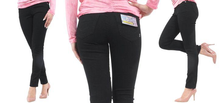 Schwarze Damen Jeans mit hoher Hüfte  Wedan Damen Jeans High Waist Straight Fit schwarz 2-559  Jetzt auf Amazon ansehen: http://www.amazon.de/gp/product/B00V501T68/ref=as_li_tl?ie=UTF8&camp=1638&creative=19454&creativeASIN=B00V501T68&linkCode=as2&tag=kbco05-21&linkId=3D7NDLMKSFUTE3HF  Auch direkt bei uns im Shop: http://www.stylefabrik-fashion.de/Wedan-Damen-Jeans-High-Waist-Straight-Fit-schwarz-2-559?fb=1  Viel Spaß beim shoppen Die Stylefabrik