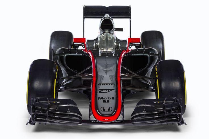 The 2015 McLaren Honda Is A Throwback To When F1 Cars Weren't Hideous