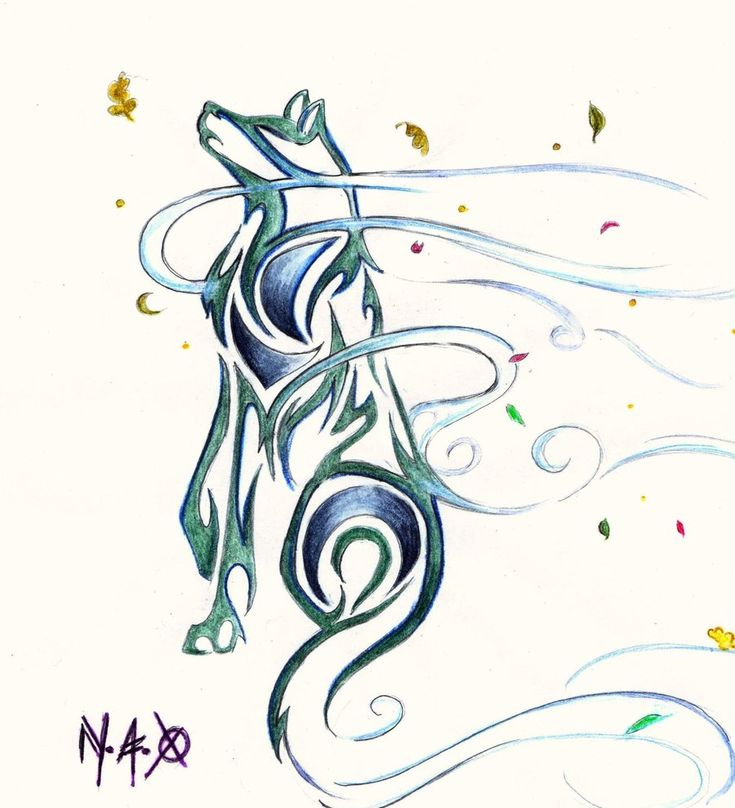 Wind Wolf 1 by Nef-the-art-Otter.deviantart.com on @deviantART