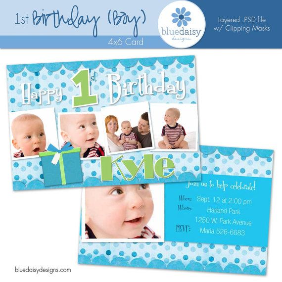 Best Hudsons First Birthday Images On Pinterest Alligators - Birthday invitation cards 1 year old boy