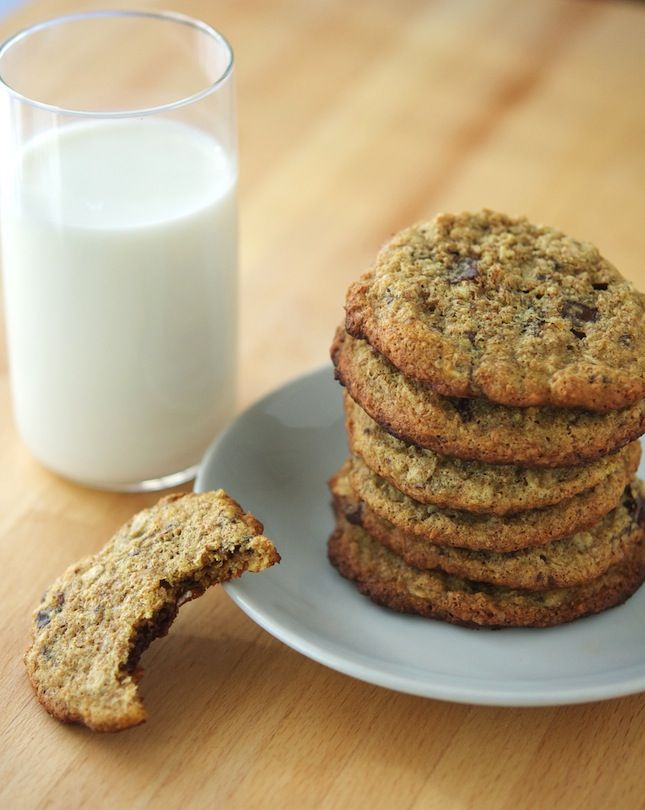Protein Oatmeal Chocolate Chip Cookies (Updated 01/25/2013)