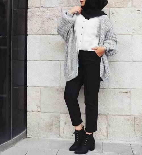 Warm and chic hijab styles – Just Trendy Girls - Ayesha 💫