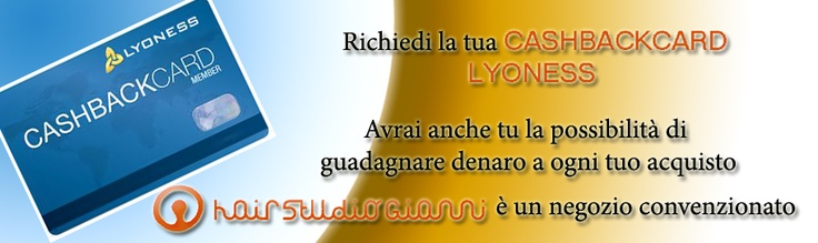 SEGUICI SU:  http://www.lyoness.net/internal/it/stores/it-IT/803895-Hairstudio-Gianni