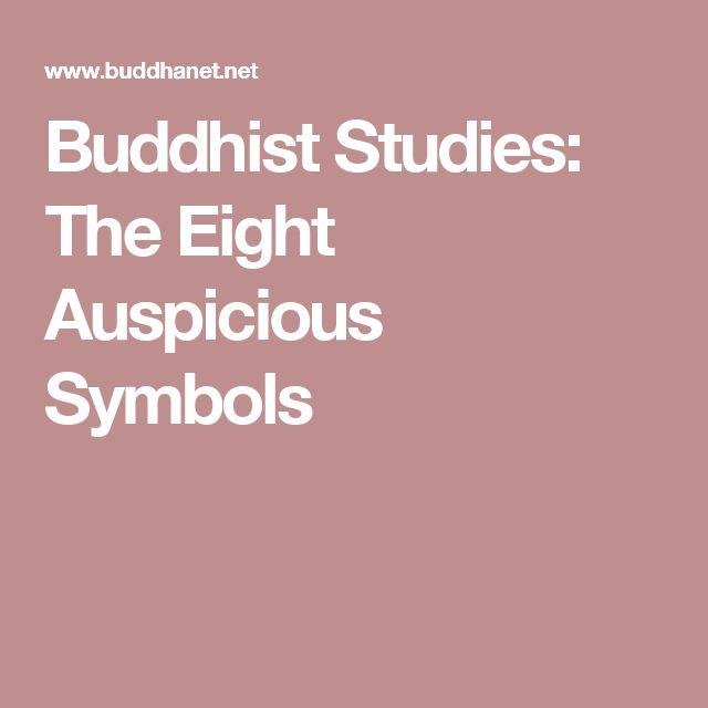 Buddhist Studies: The Eight Auspicious Symbols