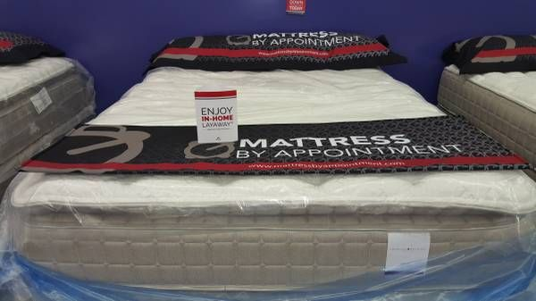 Mattress by Appointment Pensacola  New beds queen, full and twin starting at $99. King sets starting at $250. Everything is new in the plastic with manufacturer warranty. Warranties from 30 Days up to 10 years on all mattress purchases. Pillow tops, hybrids, gel foam and adjustable bases with massage available. 90 Days interest free financing available with as little as $40 down. Easy qualification NO CREDIT NEEDED. Call 850-888-0233.