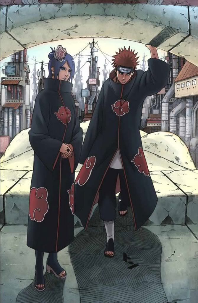 Naruto Shippuden » Fanart + <3 | Konan and Pein | #konan #pein