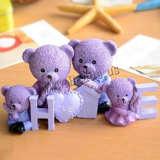 resina decoración de arte, Oso, http://www.beads.us/es/producto/resina-decoracion-de-arte_p194144.html?Utm_rid=163955